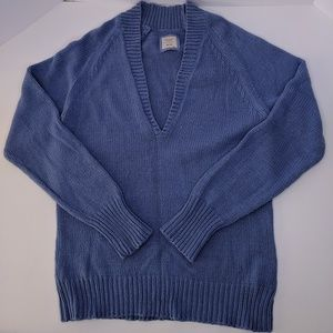 Old Navy Blue Sweater Extra Large Cotton Acrylic